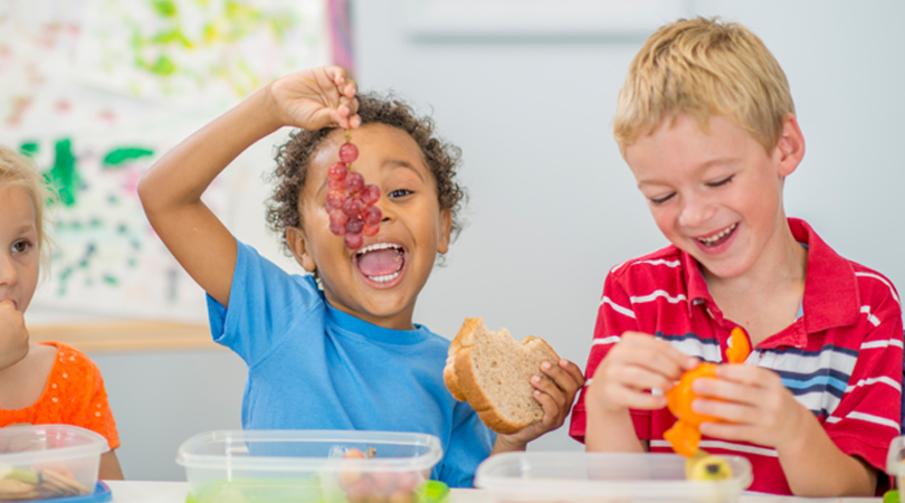 Sunt og godt innhold i matboksen til barna gir de gode forutsetninger - både på barnehage og skole.