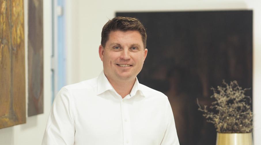 Administrerende direktør i Sparebanken Møre, Trond Lars Nydal.