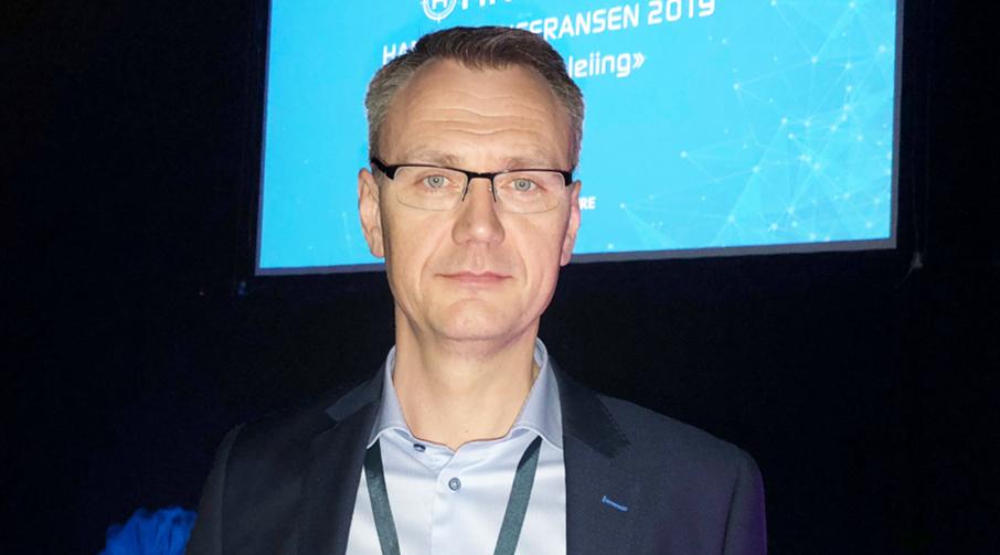 Øyvind Tørlen, administrerende direktør i Jets Vacuum, Hareid.