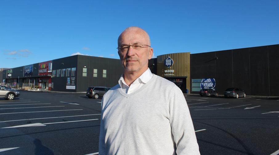 Jan Petter Larsen, daglig leder i Digerneset Næringspark.