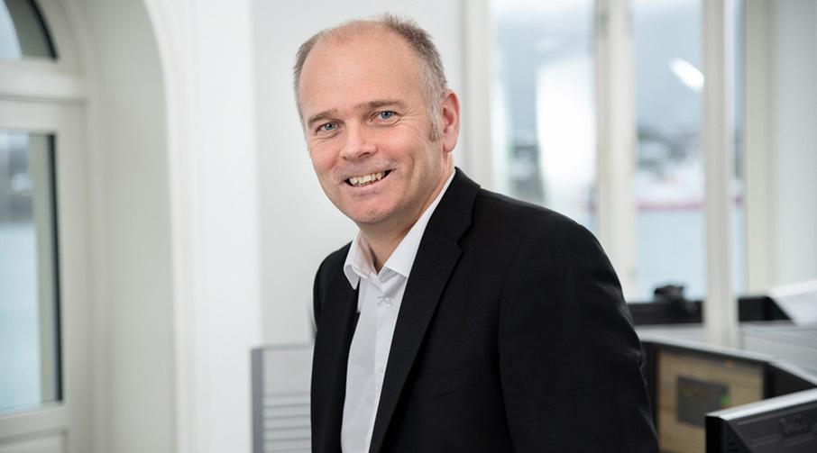 Trond Moldskred, leder Aktiv Forvaltning i Sparebanken Møre.