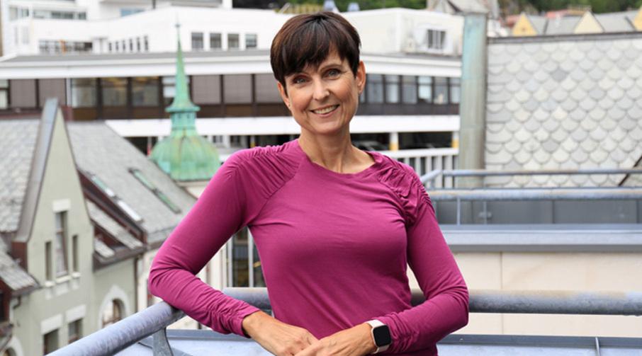 Monika Valderhaug Larsen, fagsjef i avdeling Produkt og tjenesteutvikling i Sparebanken Møre.